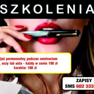 szkolenia makijaż permanentny poznań